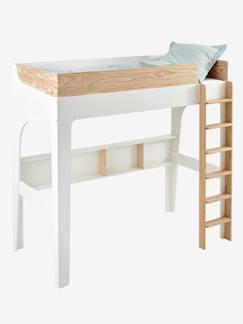 lit superpos enfant lits mezzanine combin pour enfants fille gar on vertbaudet. Black Bedroom Furniture Sets. Home Design Ideas