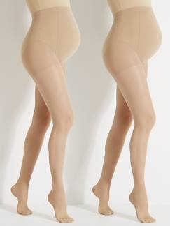 Future Maman-Legging, collant-Lot de 2 collants voile spécial grossesse