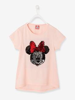 Réversibles-Fille-T-shirt fille Minnie® à sequins réversibles
