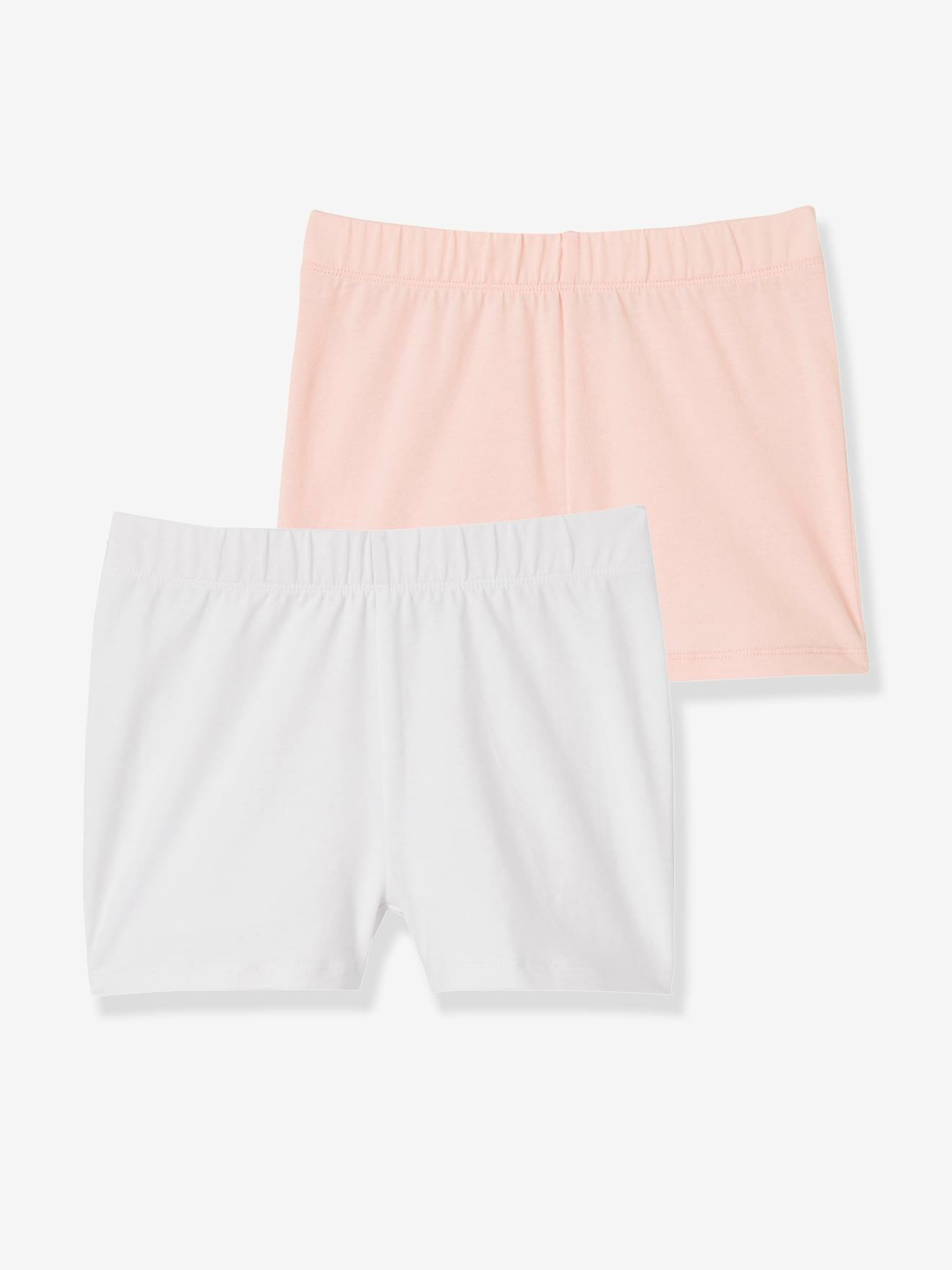 Lot de 2 shorts fille à porter sous robe