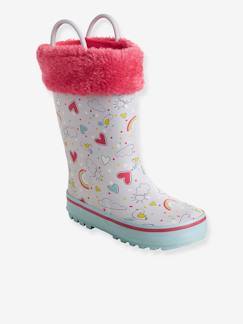broderie-Chaussures-Bottes de pluie fille collection maternelle