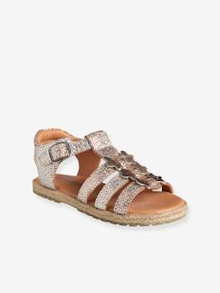 Outlet-Sandales cuir fille collection maternelle