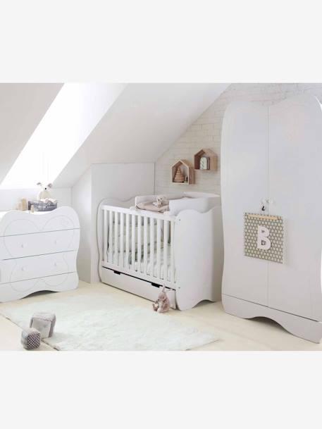 plan langer universel pour lits b b blanc vertbaudet. Black Bedroom Furniture Sets. Home Design Ideas