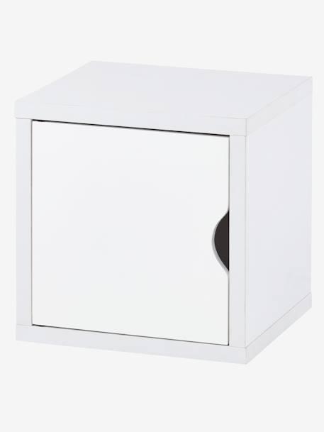 Porte Pour Meuble à Cases Blanc Vertbaudet - Porte meuble