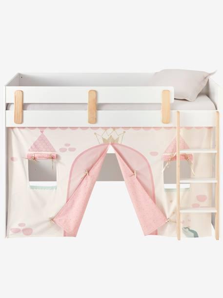 tente de lit princesse f rique pour lit mezzanine mi. Black Bedroom Furniture Sets. Home Design Ideas