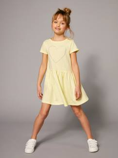 Prix Malice-Fille-Robe manches courtes fille
