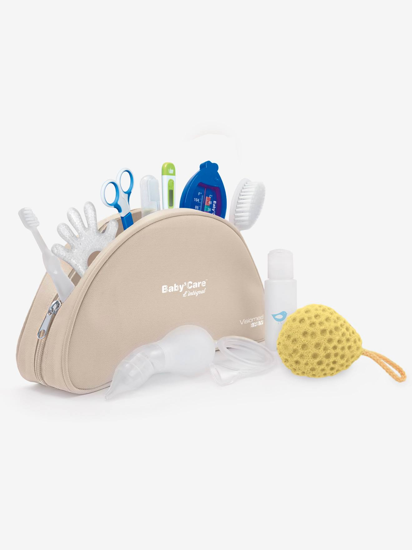 trousse de soins bebe visiomed baby baby'care l'integral