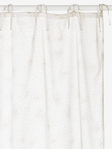 Rideau Blanc Voilage