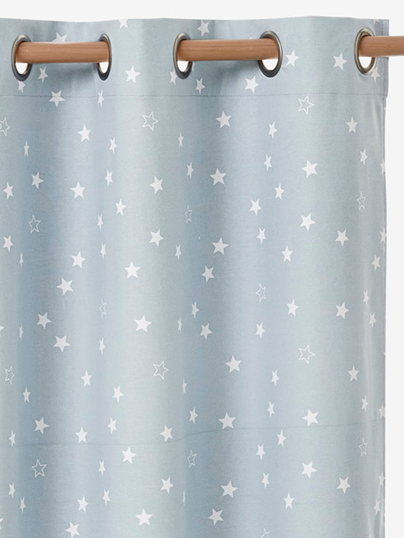 Bon Rideau Occultant étoiles Bleu 1   Vertbaudet Enfant