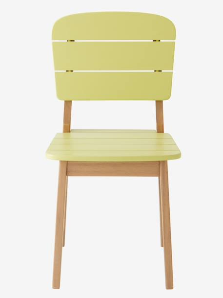 Chaise maternelle outdoor/indoor Tropicool Jaune+Orange+Vert 3 - vertbaudet enfant