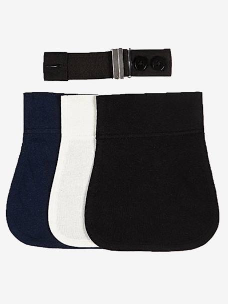 4b4574108142 Ceinture extensible Flexi-Belt de Carriwell Bleu Noir Crème 3 - vertbaudet  enfant
