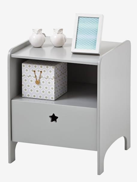 chevet ligne sirius blanc vertbaudet. Black Bedroom Furniture Sets. Home Design Ideas