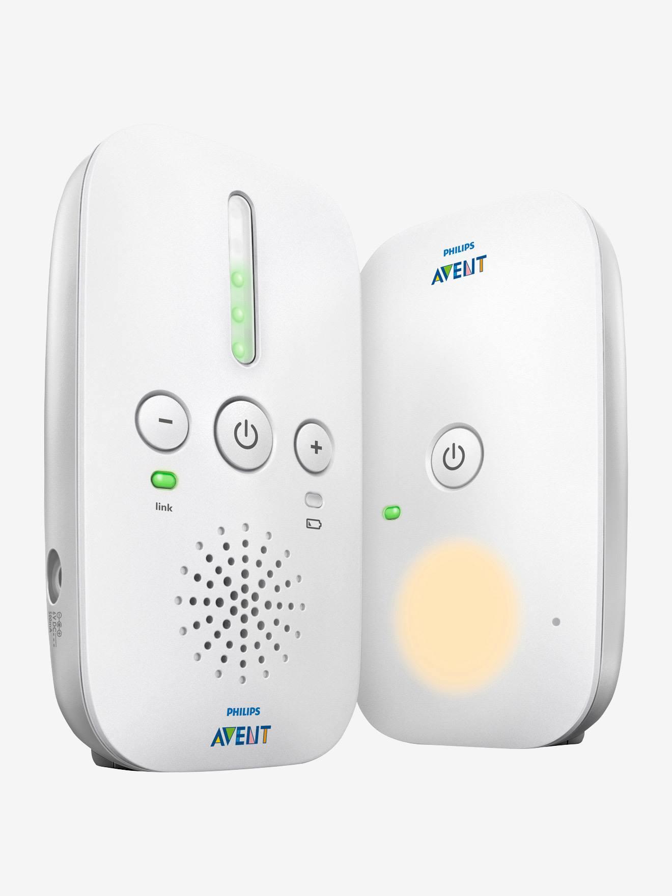 Ecoute-bébé numérique DECT Philips AVENT SCD502 blanc
