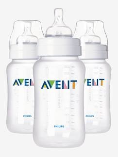 Nouvelle collection-Puériculture-Repas-Lot de 3 biberons 330 ml Philips AVENT Classic sans BPA