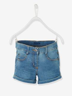 valisevacances-camping-Short en jean fille