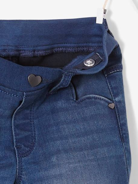 Pantalon slim fille en denim tour de hanches FIN Stone 3 - vertbaudet enfant