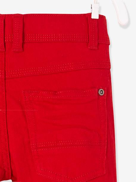 Pantalon slim garçon tour de hanches MEDIUM morphologik MARINE+ROUGE 7 - vertbaudet enfant