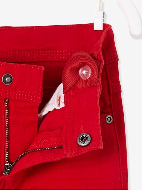 Pantalon slim garçon tour de hanches MEDIUM morphologik MARINE+ROUGE 8 - vertbaudet enfant