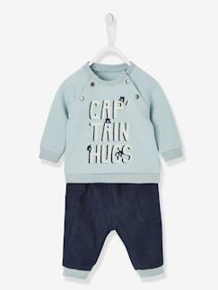 Bébé-Ensemble bébé sweat et jean captain hugs