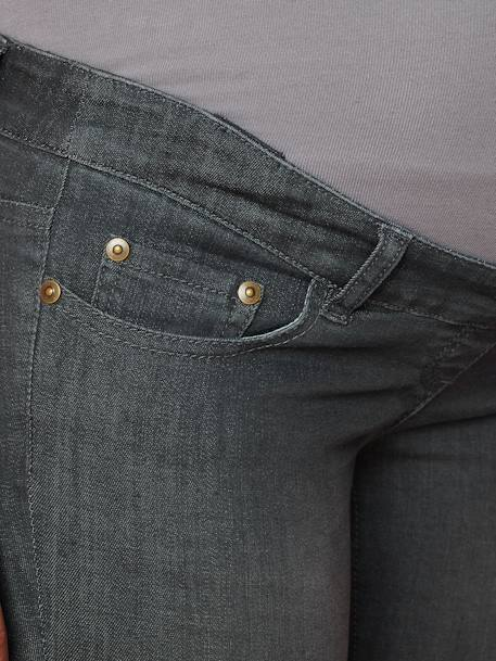 Jean slim stretch de grossesse entrejambe 85 Denim black+Denim brut+Denim gris+Denim stone+TRIPLE STONE 24 - vertbaudet enfant