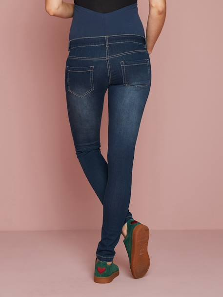 Jean slim stretch de grossesse entrejambe 85 Denim black+Denim brut+Denim gris+Denim stone+TRIPLE STONE 11 - vertbaudet enfant
