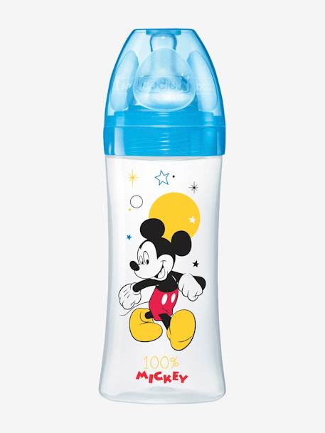 Biberon 330 ml tétine ronde Dodie Initiation+ - débit 3 BLEU MICKEY+ROSE MINNIE 4 - vertbaudet enfant