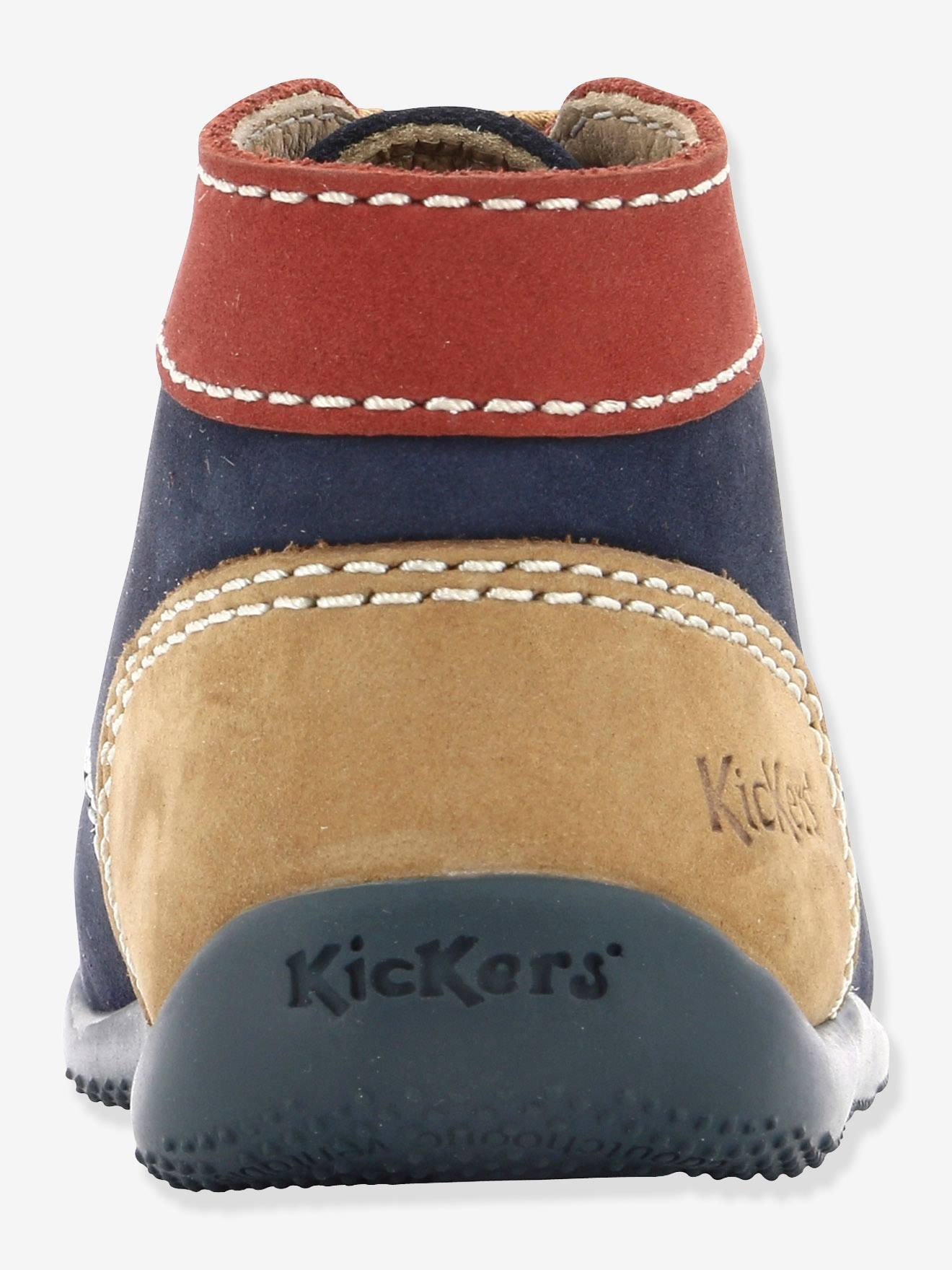 3e2e45689c88b Premiers Kickers® Bottillons Bébé Garçon Pas Kickers Bonbon wqO6xU