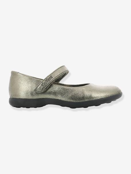 Babies fille Ambellie KICKERS® BRONZE METALLIQUE+MARINE METALLIQUE 2 - vertbaudet enfant