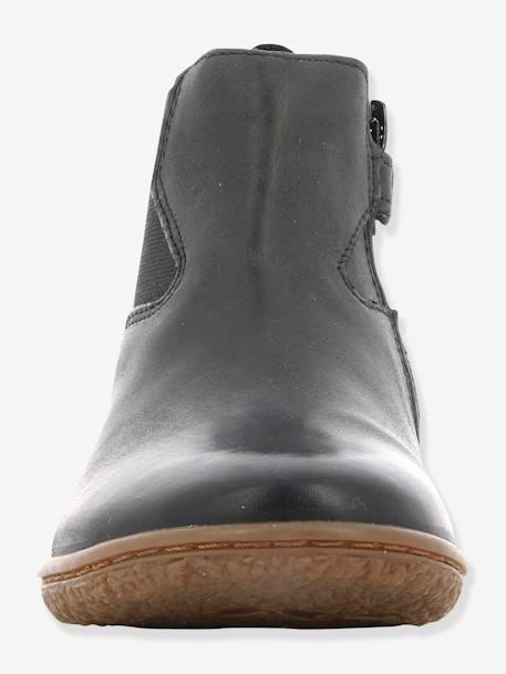 2caf638c482bb Boots fille Vermillon KICKERS® MARINE+Noir 21 - vertbaudet enfant