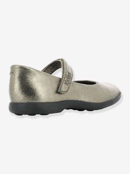 Babies fille Ambellie KICKERS® BRONZE METALLIQUE+MARINE METALLIQUE 4 - vertbaudet enfant