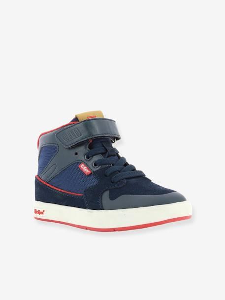59e8421dba5f Baskets Sneakers hautes garçon Gready Mid KICKERS® MARINE ROUGE 1 - vertbaudet  enfant