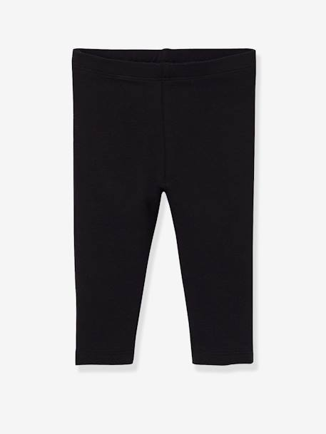 Lot de 2 leggings longs bébé fille LOT ANTHRACITE + POIS+LOT FRAMBOISE + POIS+LOT IVOIRE+Lot marine grisé+Lot noir+LOT NOIR+POIS+Lot rose+LOT ROSE PALE 23 - vertbaudet enfant