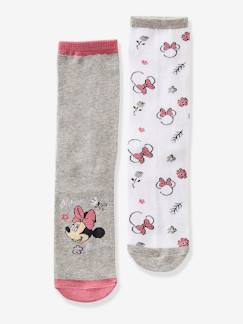 Fille-Lot de 2 paires de chaussettes Minnie®