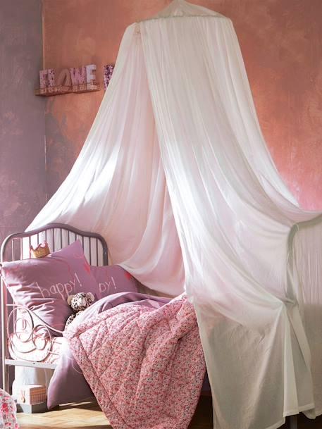 Ciel de lit Cocoon blanc - Vertbaudet