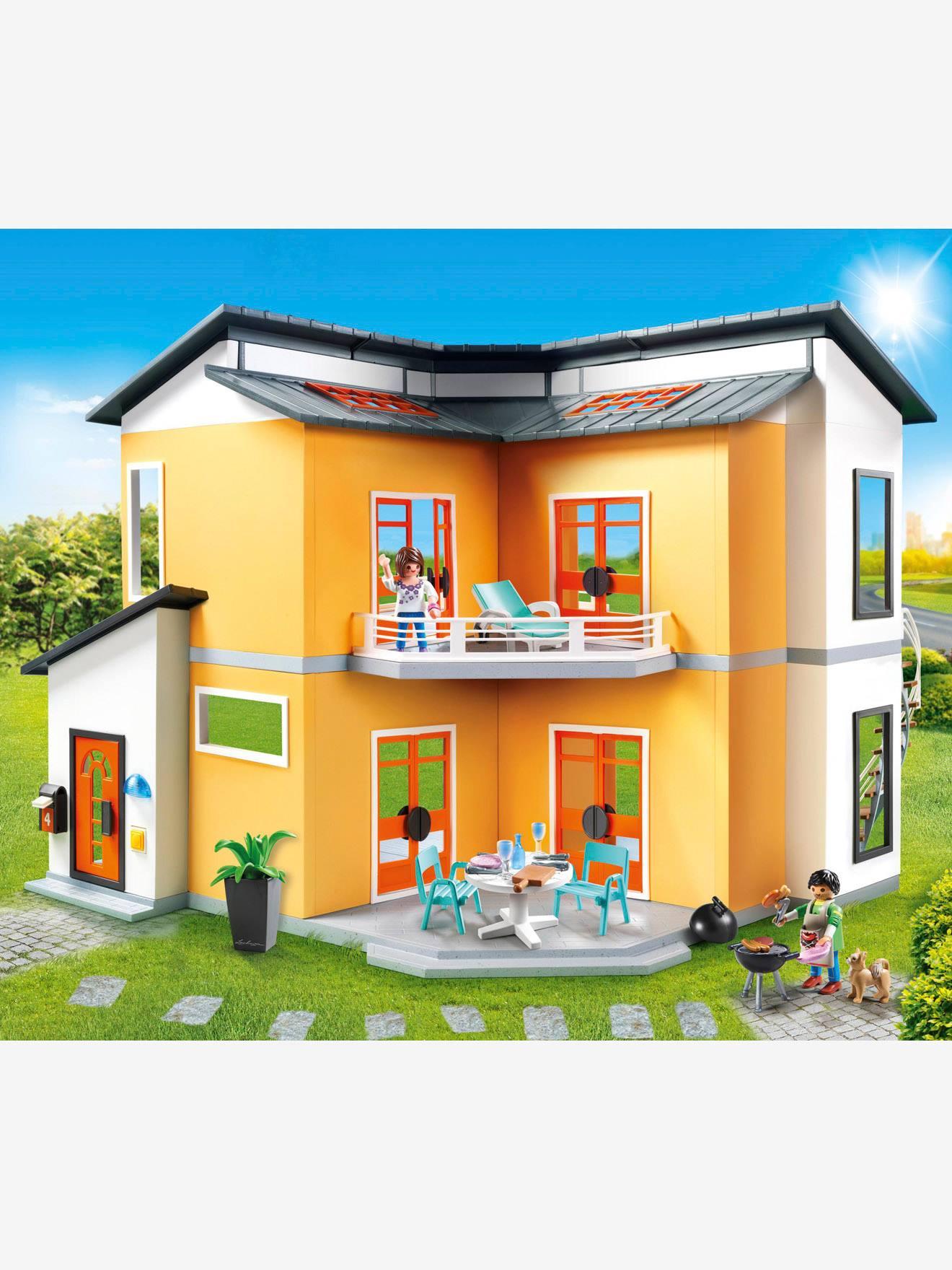 9266 Maison moderne Playmobil orange - Playmobil