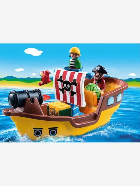 9118 Bateau de pirates 123 Playmobil MARRON 3 - vertbaudet enfant