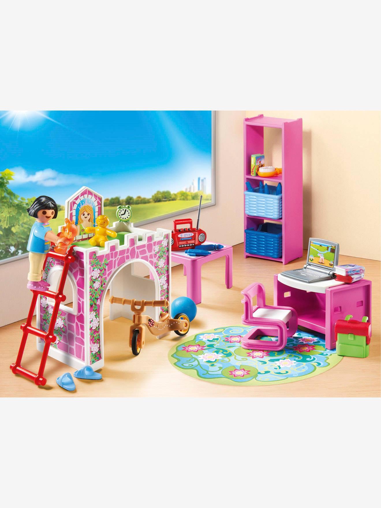 9270 Chambre d\'enfant Playmobil rose - Playmobil