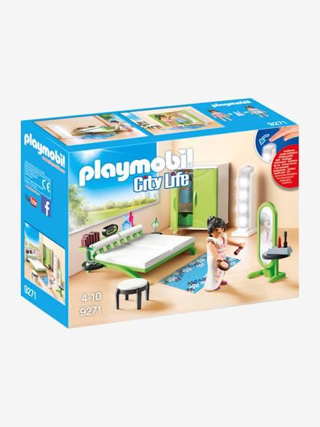 9271 Chambre Avec Espace Maquillage Playmobil Vert Playmobil
