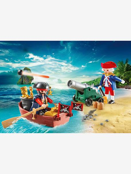 9102 Valisette pirate et soldat Playmobil MARRON 3 - vertbaudet enfant