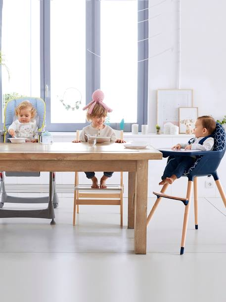 Chaise multiposition VERTBAUDET MagicSeat Gris étoiles+Jungle+Rayé bleu 6 - vertbaudet enfant
