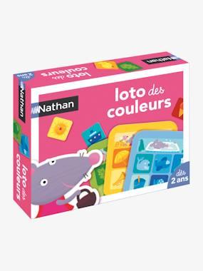 Loto des couleurs NATHAN multicolore