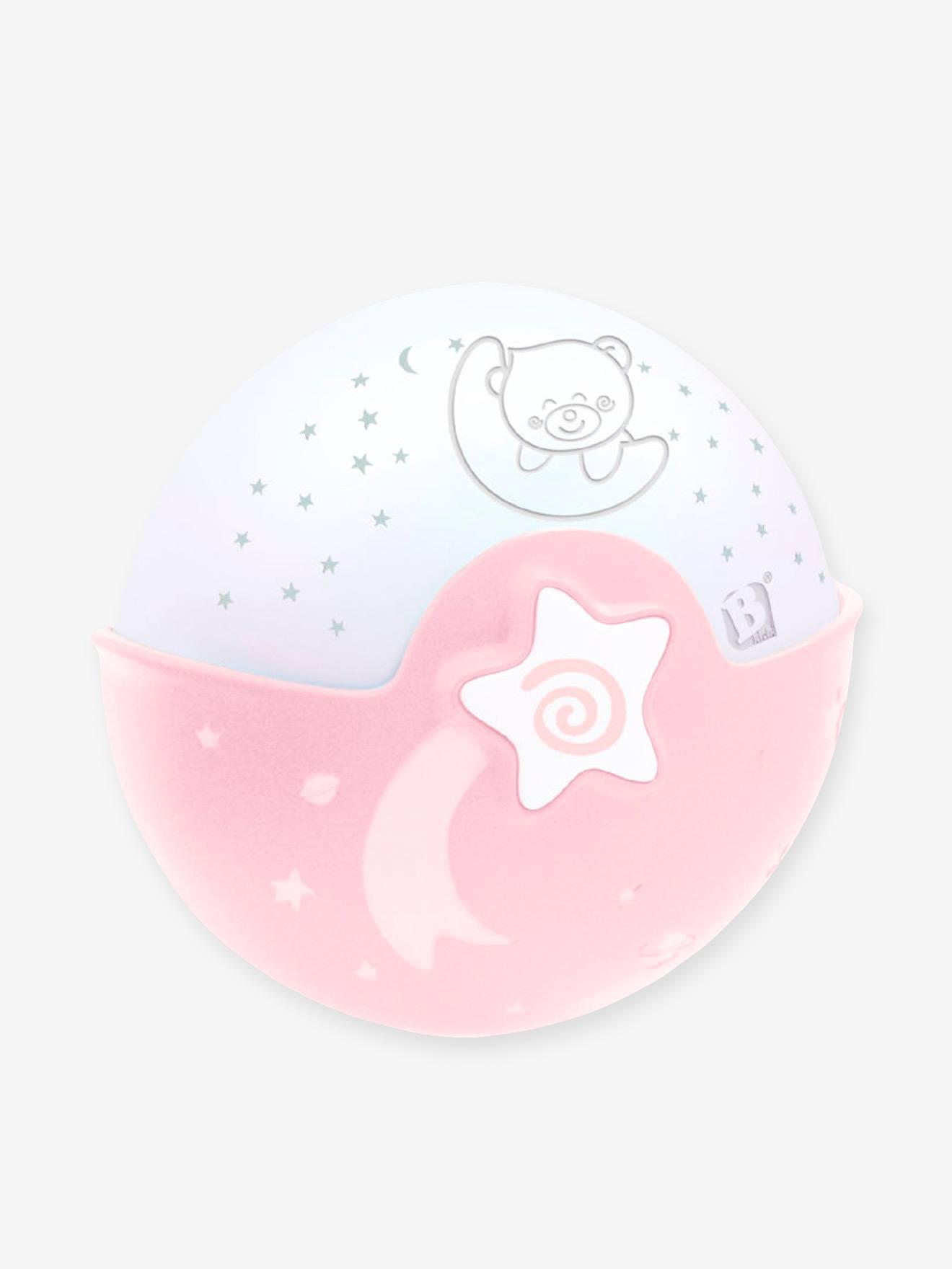 Pour accompagner bebe durant ses nuits, la veilleuse musicale Projecto lampe s?active automatique par la voix ou les pleurs et commence a jouer de douces melodies, diffuse une lumiere tamisee et des sons de la nature apaisants, creant autour du berceau un
