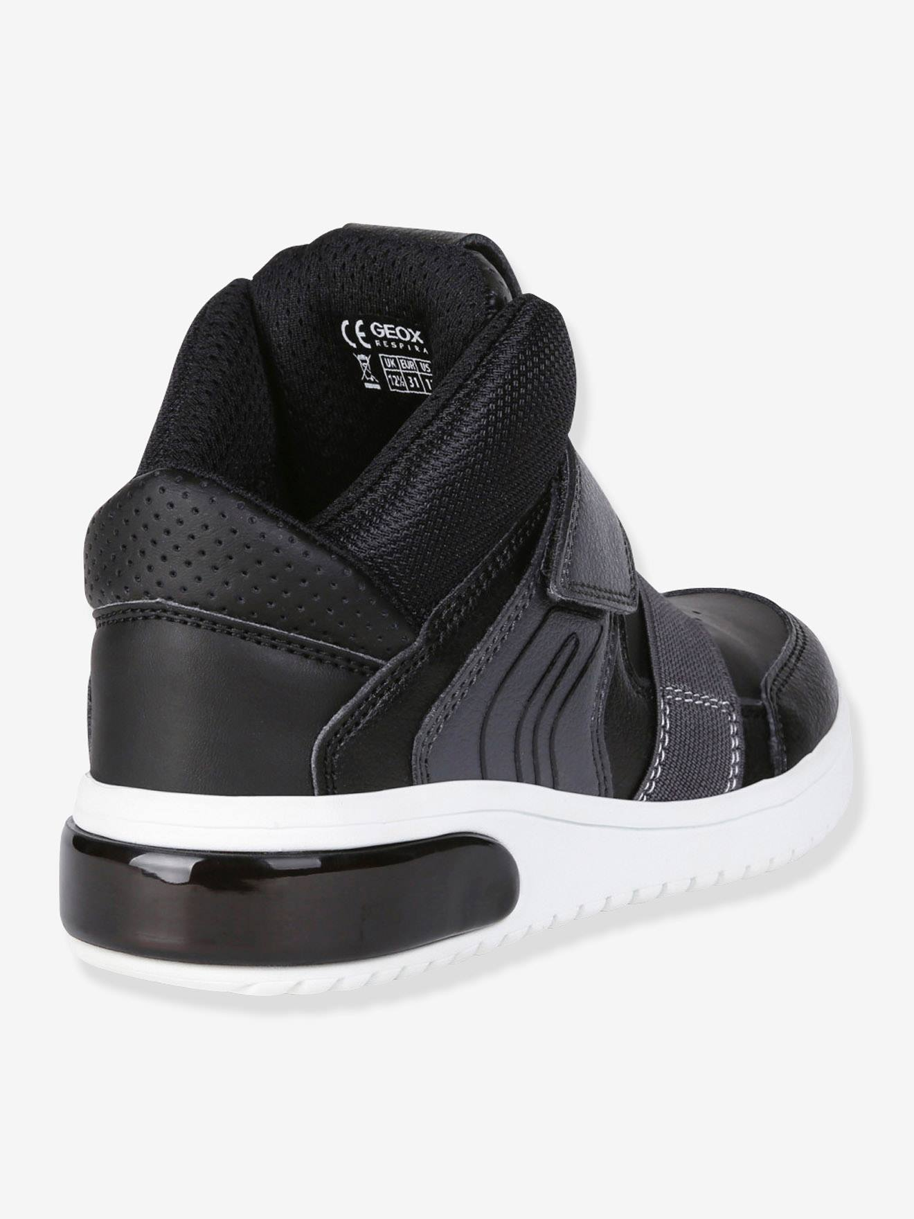 Geox® Noir High Geox Boy Garçon Xled Mid Baskets qwFR77
