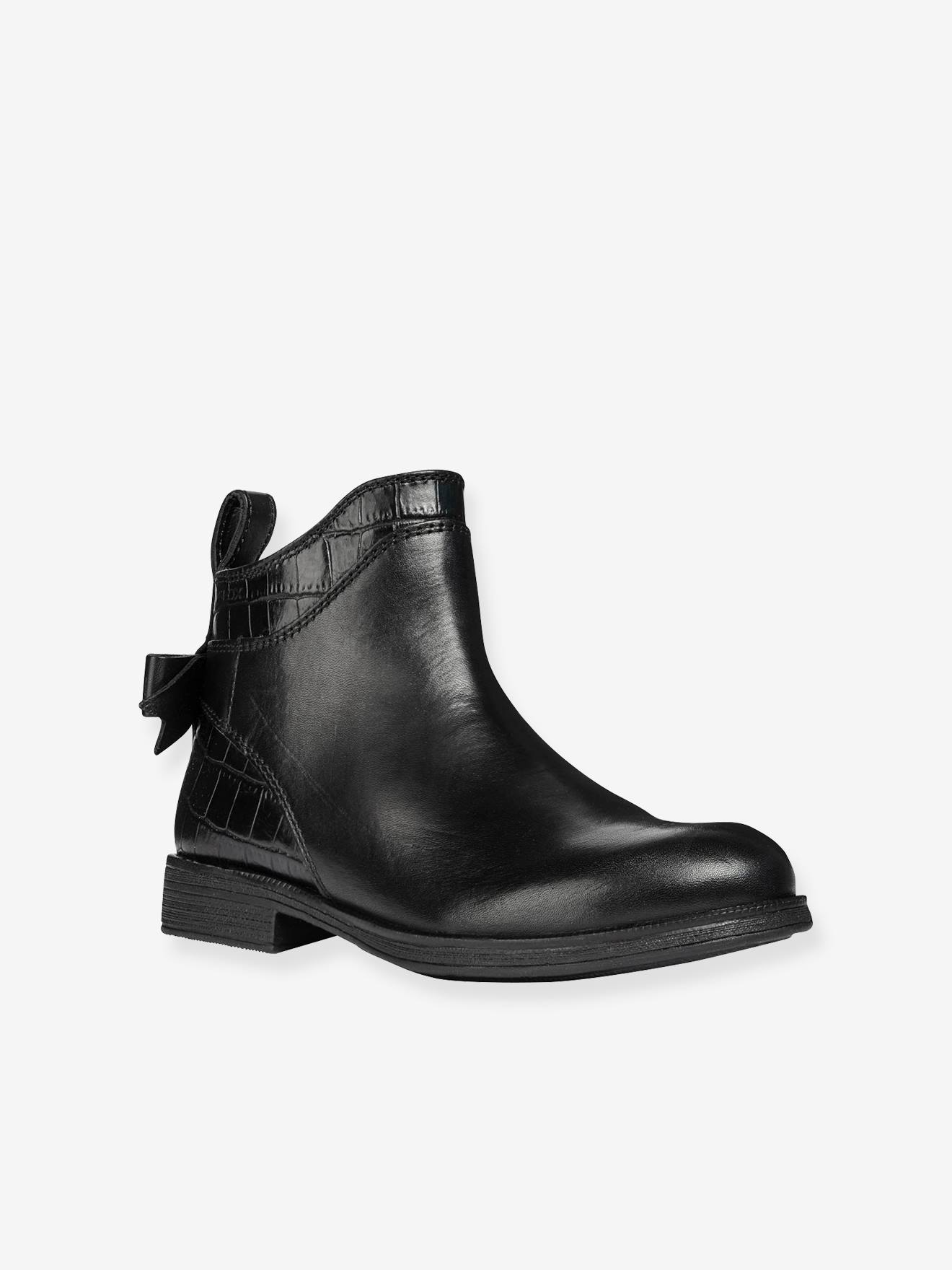 Noir Boots Fille Geox Agata Geox® 7f6gYby