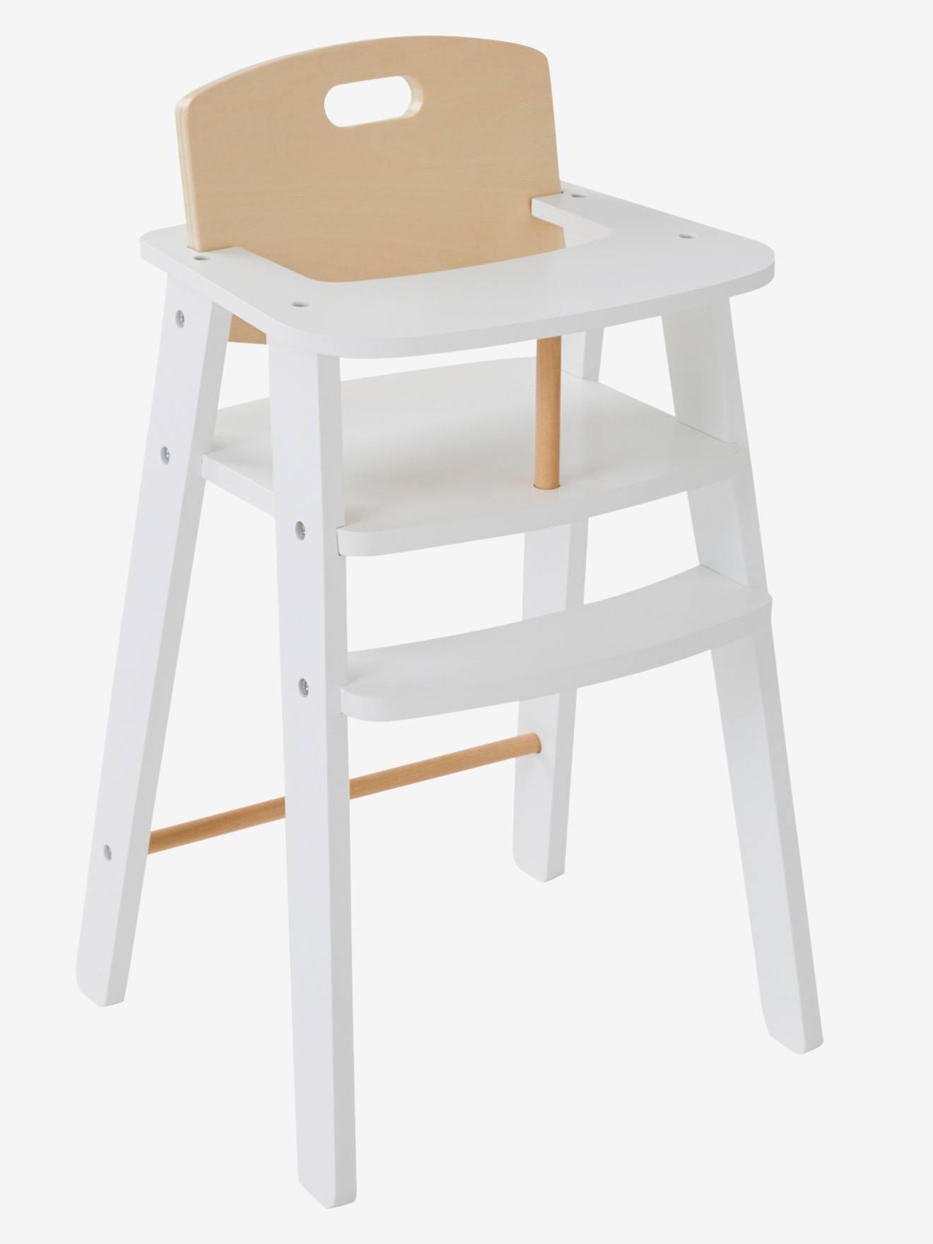 chaise haute bébé jouet 43 cmvtecht