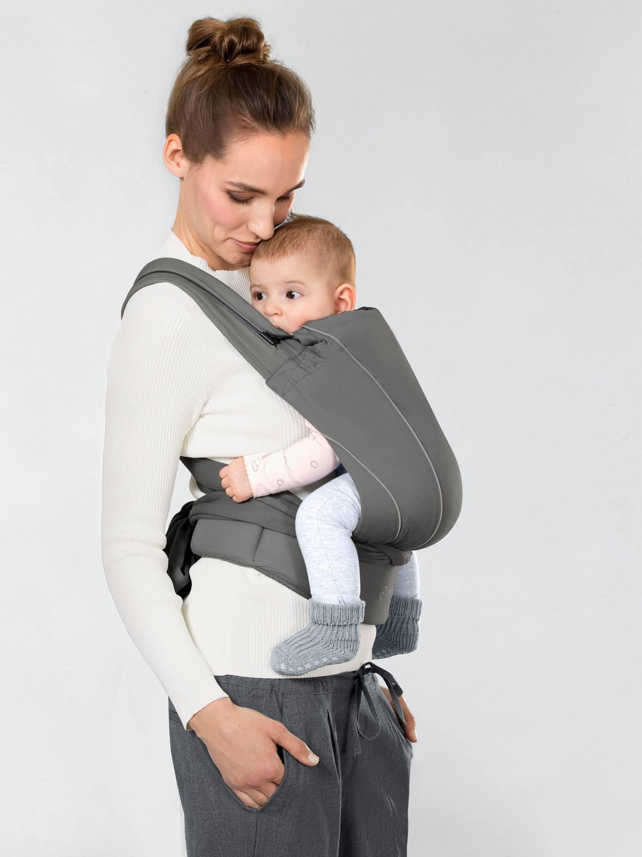 Porte-bébé physiologique CYBEX Maira Tie noir (lavastone black) - Cybex 6a4b43fff22