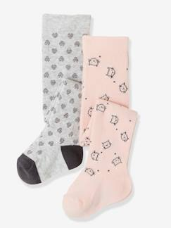 Bébé-Lot de 2 collants bébé fantaisie
