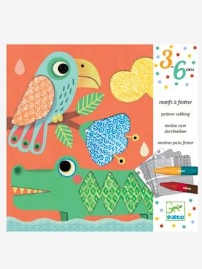 Coloriage «Les amis de Magali» DJECO multicolore