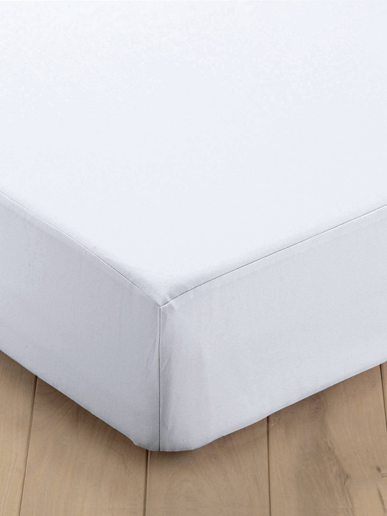 Alèse molleton entretien facile blanc
