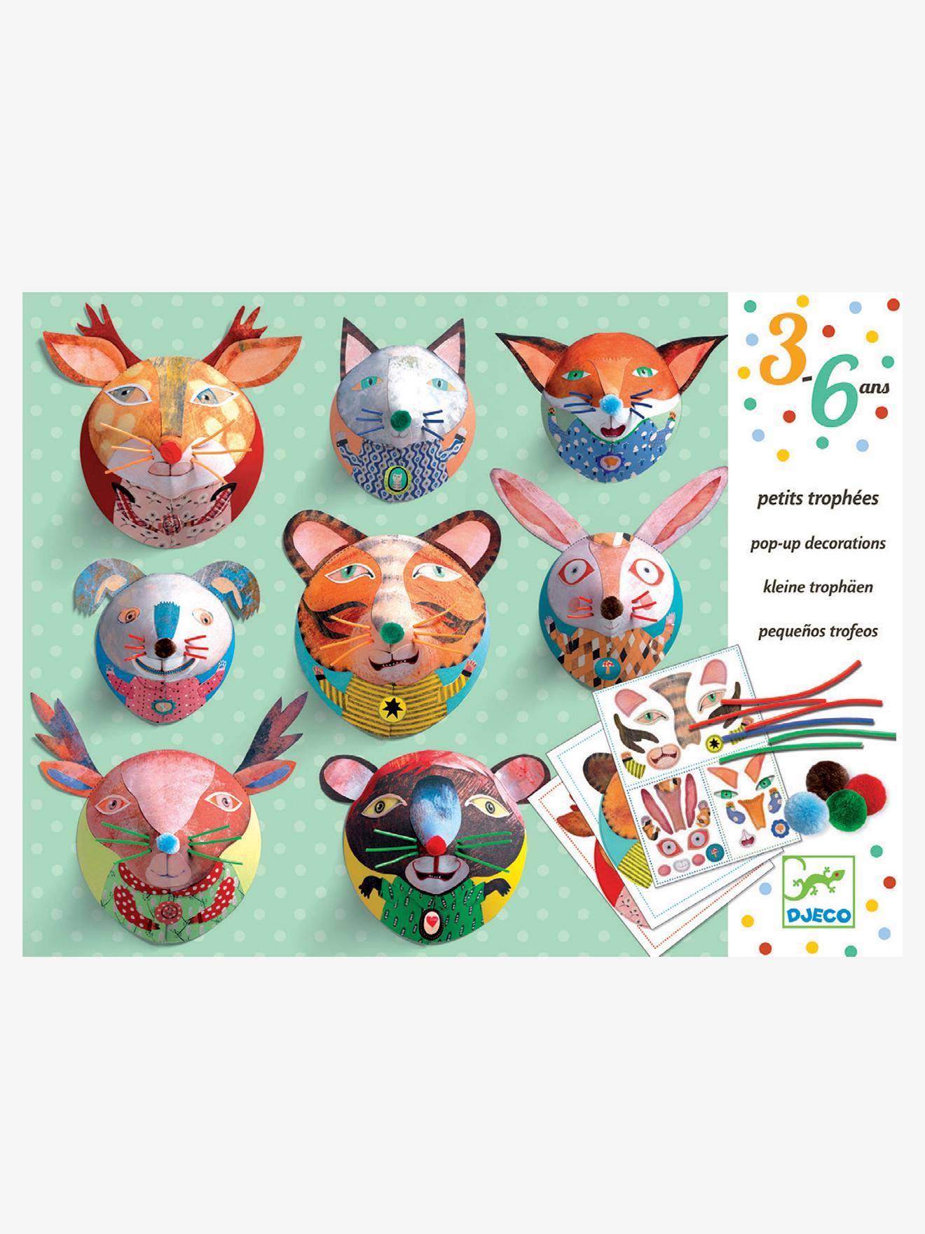Petits trophées «Galerie de portraits» DJECO multicolore